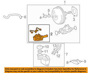 s l300 toyota oem 05 10 sienna brake master cylinder 4720708011 ebay