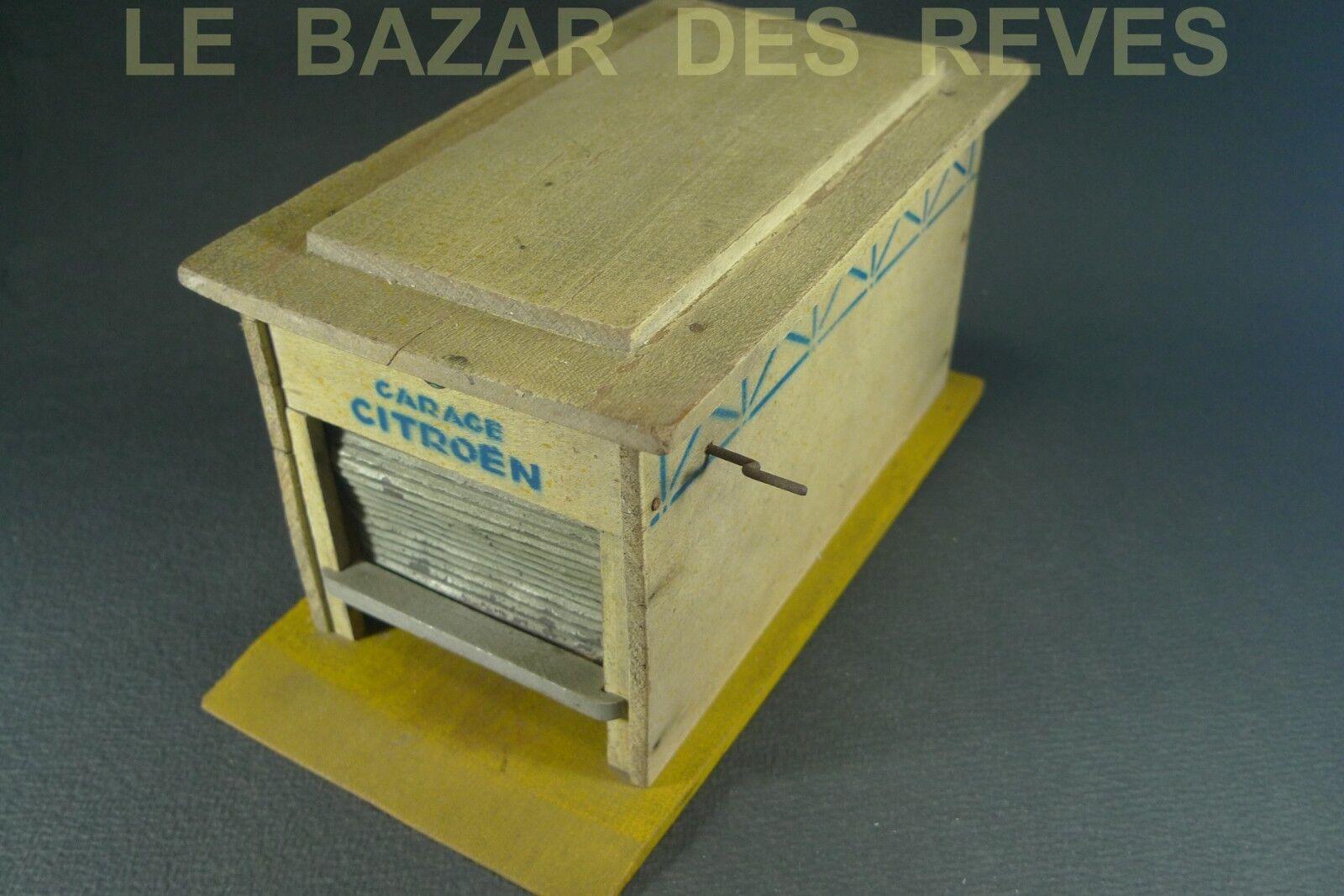 Mettre la réduction jusqu'au bout JOUETS CITROEN. Garage en bois. bois. en dcf53e