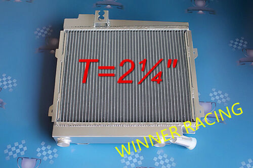 "T=2¼/"" ALUMINUM ALLOY RADIATOR FOR BMW E21 320//323I//ALPINA C1 M20 MANUAL//T 79-82"