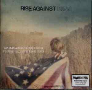 RISE-AGAINST-Endgame-Australia-NZ-Edition-CD-BRAND-NEW-Bonus-Track