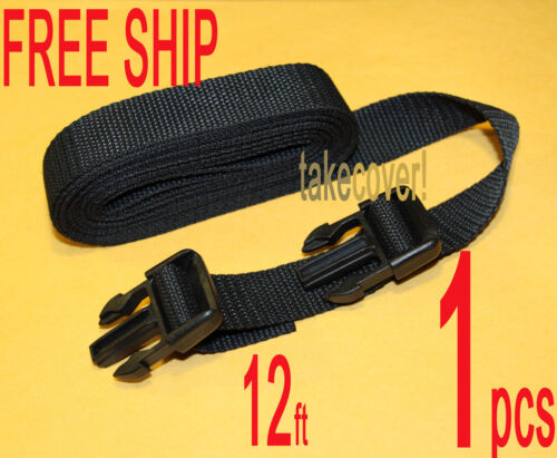 """1x BOAT COVER TIE DOWN KIT 1/"""" x 12/' w// 2 males ends MM"""