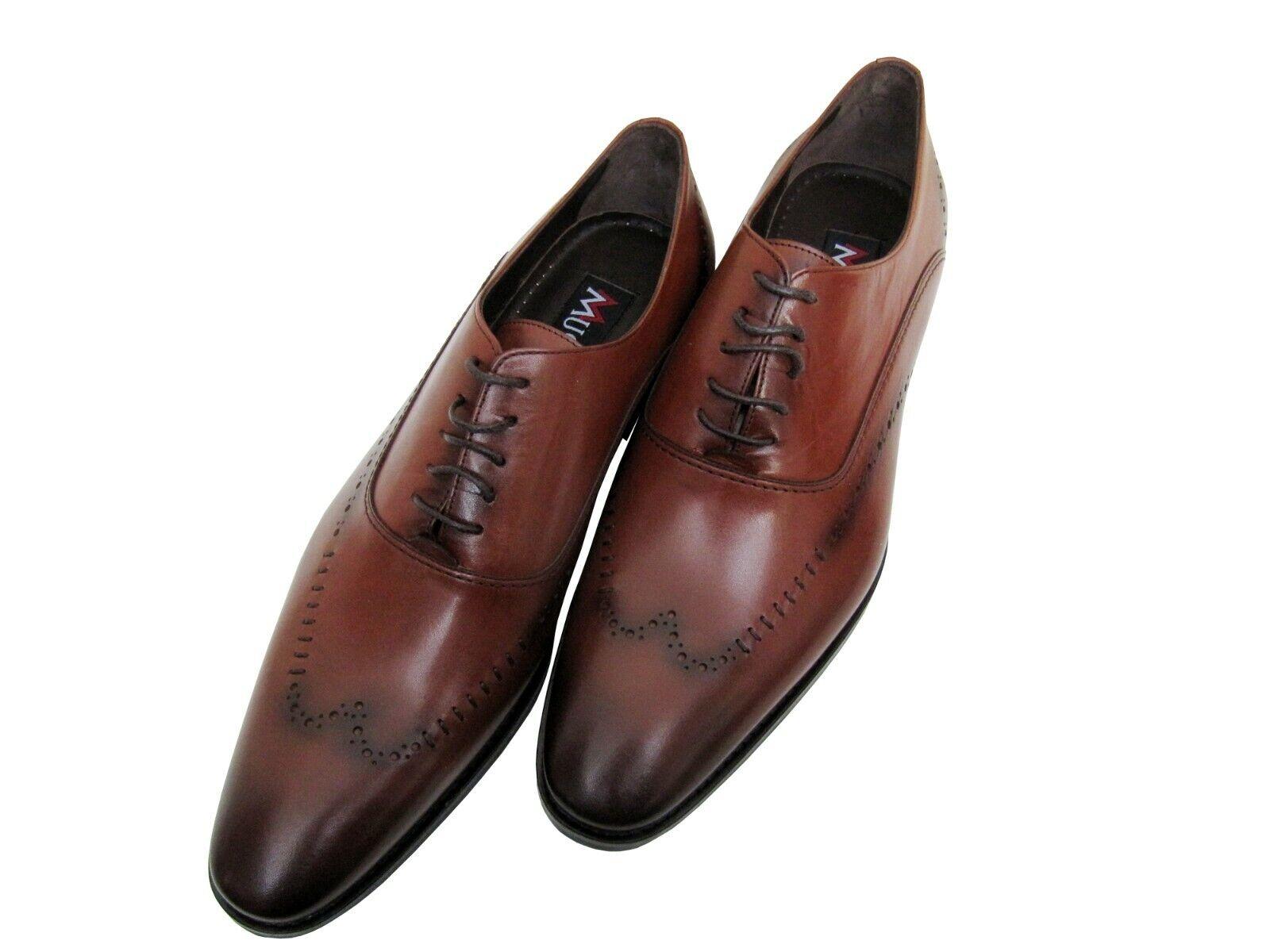 Herren Schuhe Echt leder Gr.45 Tobacco    | Stilvoll und lustig