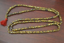 108 PCS TIBETAN BUDDHIST BUFFALO SKULL BONE MALA PRAYER BEADS 12MM #BD-146