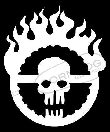 Immortan Joe Black STICKER VINYL DECAL MAD MAX WAR BOYS FURY FURIOSA SKULL