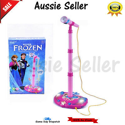 Disney Frozen Light /& Sound Microphone Elsa and Anna