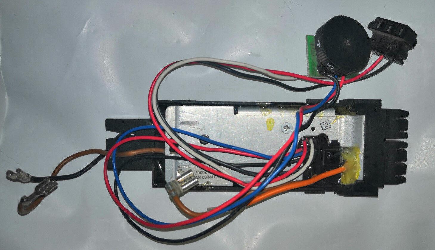 Hilti WSR 36  Steuerelektronik, gebraucht, original Elektronik, Drehzahlregler