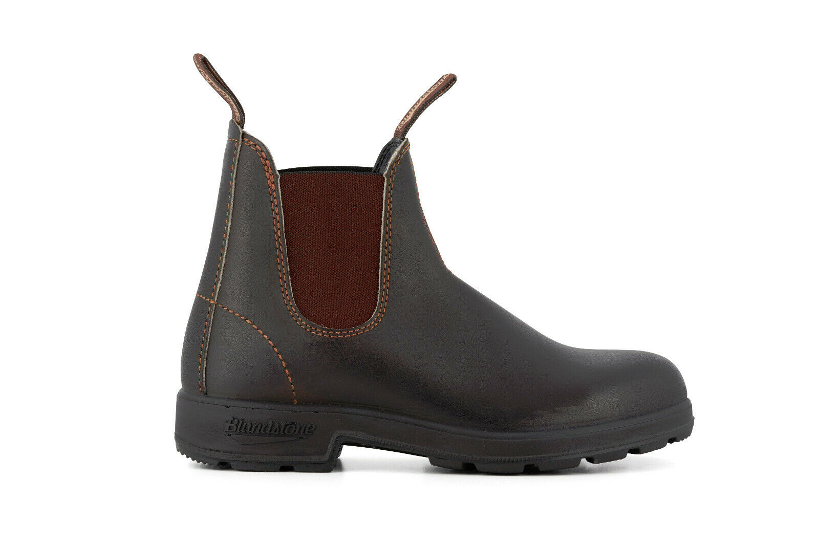 bluendstone 500 Unisex Stout Brown Leather Chelsea Ankle Boots