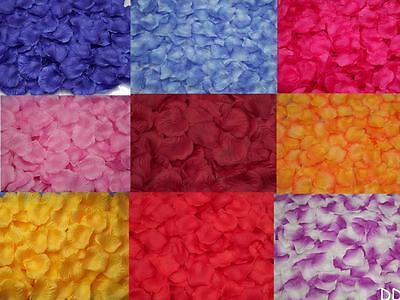 DICA 200pcs Silk Rose Flower Petals Leaf Wedding PartyTable Confetti Decoration
