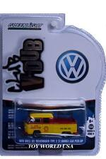 GreenLight Club V-Dub '76 Shell Oil Volkswagen Type 2 T2 Double Cab Pick-Up Ser4