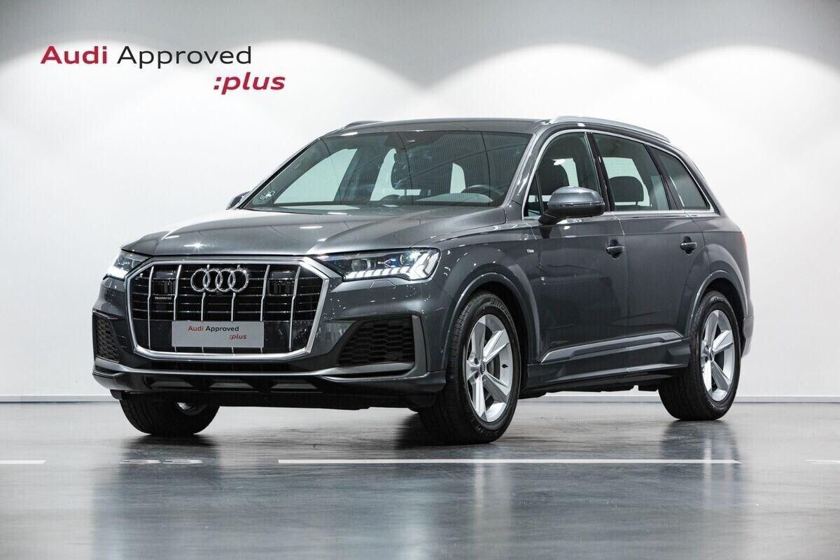 Audi Q7 50 TDi S-line quattro Tiptr. 5d - 11.710 kr.