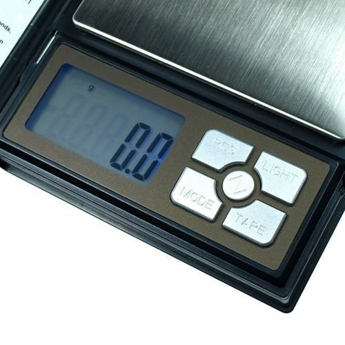 Portable 2000g x 0.1g Digital Notebook Scale
