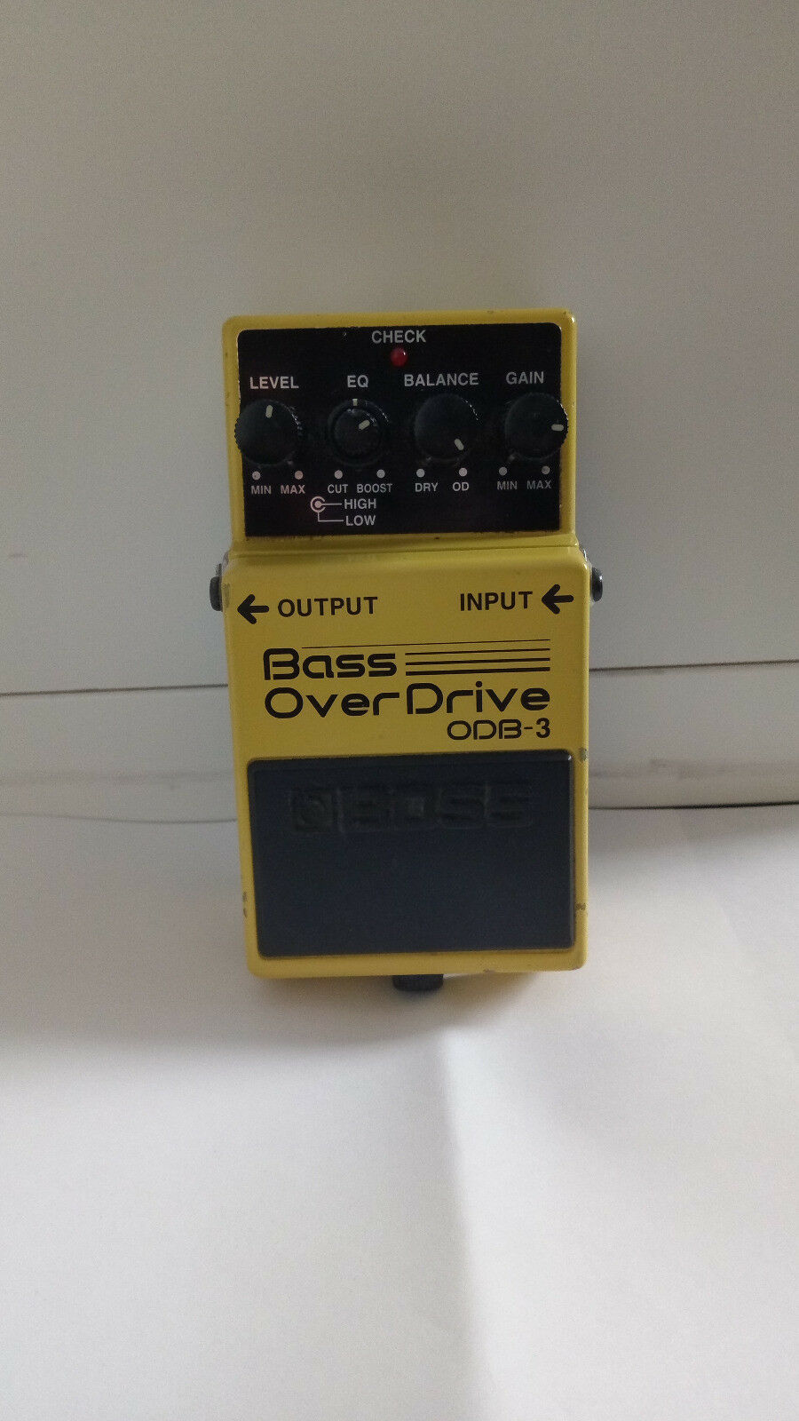 BOSS ODB-3 Bass OverDrive Guitar Effect Roland (I add a cable for free)