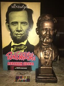 Ron-English-Abraham-Obama-15-Vinyl-Bust-MINDstyle-amp-Popaganda-Asia-Exclusive