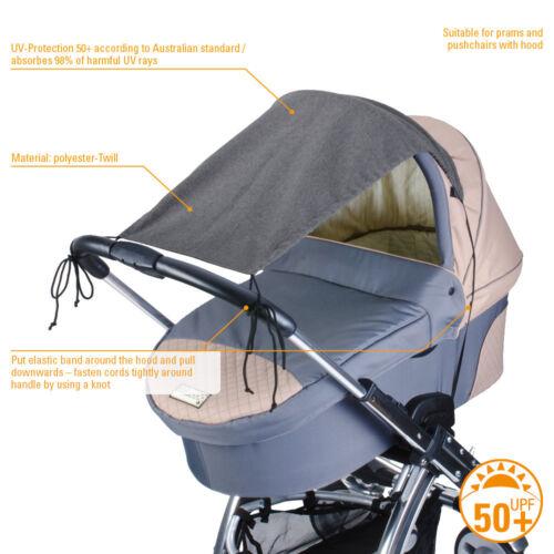 Koodeeuk Diago SUN SHADE AUVENT pour poussettes UV Protégé Entièrement neuf dans sa boîte