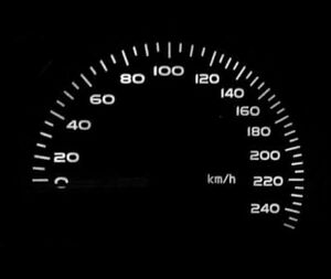 White LED Dash Speedo Kit Lighting Set For Vauxhall Frontera B Mk2 Sport