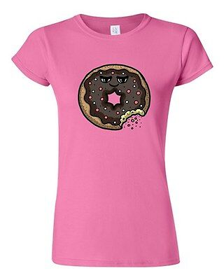 Junior Too Cute To Eat Donut Sweet Food Dessert Pastry Novelty DT T-Shirt Tee