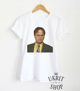 916fcdcf Dwight Schrute T-shirt The Office Shirt Funny Tumblr Unisex Clothing ...