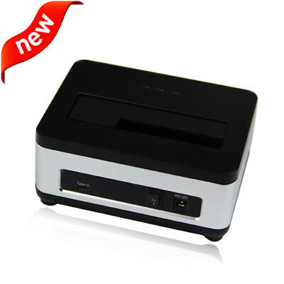 "AgeStar 3UBT6 USB 3.0 to 2.5/"" 3.5/"" SATA HDD SSD Hard Drive 2 Bay Docking Station"