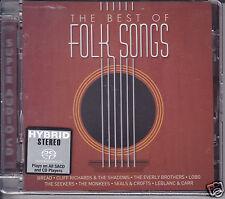 """The Best of Folk Songs"" Stereo Hybrid SACD CD Bread Cliff Richard Shadows Lobo"