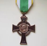 Königreich Sachsen Kriegsverdienstkreuz 1915 Orden Eisernes Kreuz  Bodenfund WK1