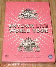 SMTOWN LIVE WORLD TOUR IN SEOUL DVD EXO GIRLS' GENERATION SHINEE f(x) TVXQ! NEW