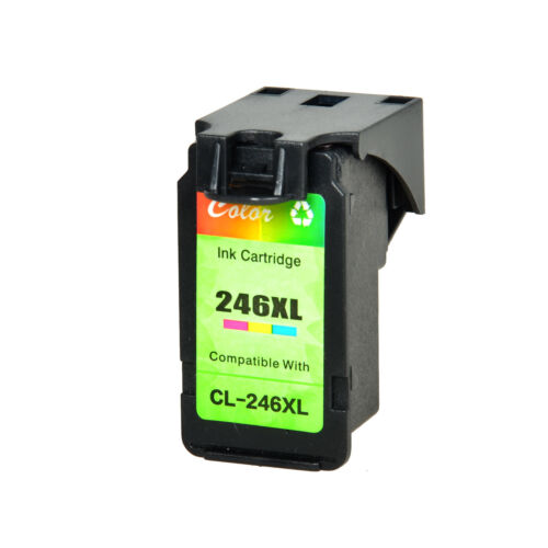 2PK Color CL246XL CL-246XL 246XL Ink Cartridge Fit for Canon PIXMA MX492 MG2420