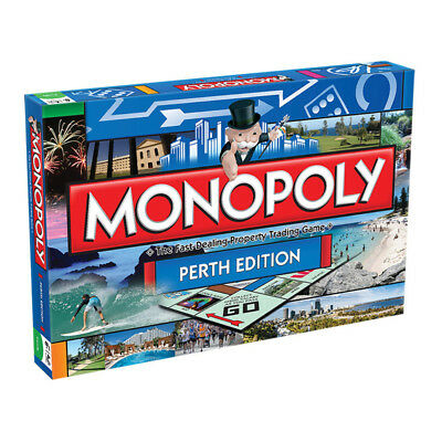 Monopoly Perth Edition Board Game NEW