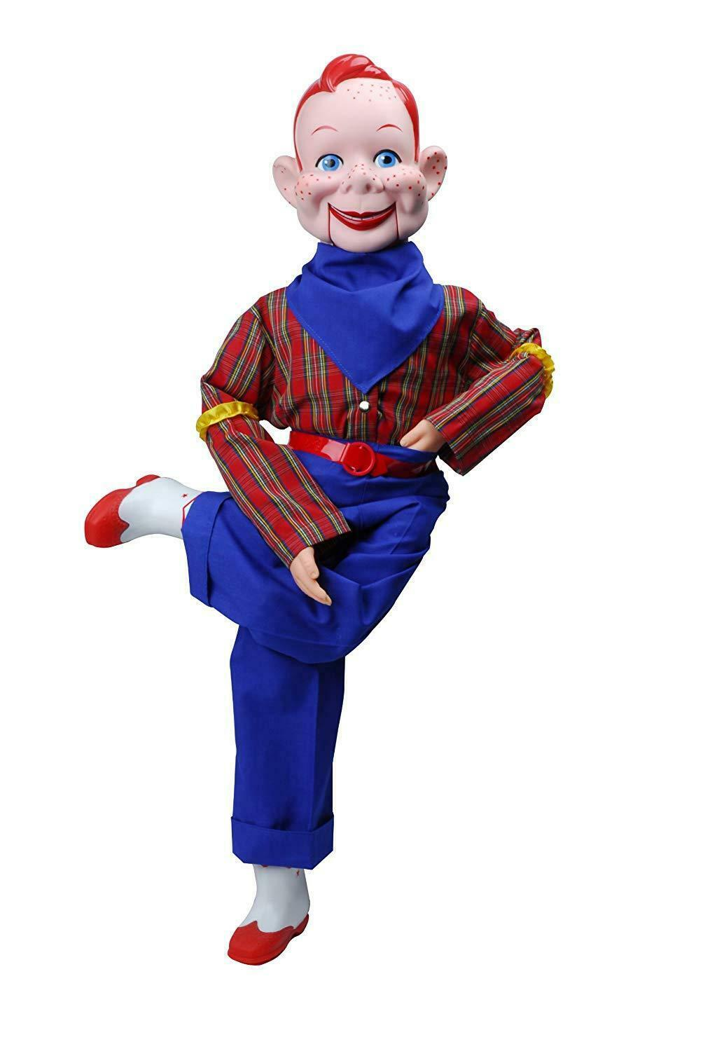 Howdy Doody Dummy Celebrity Ventriloquist Doll Star rot Hair Freckles