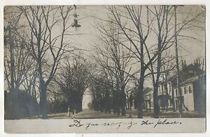 RPPC-Street-View-NORTHUMBERLAND-PA-Vintage-Pennsylvania-Real-Photo-Postcard