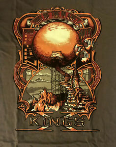 KINGS-X-cd-cvr-OUT-OF-THE-SILENT-PLANET-Official-GREEN-SHIRT-2XL-New-faith-hope