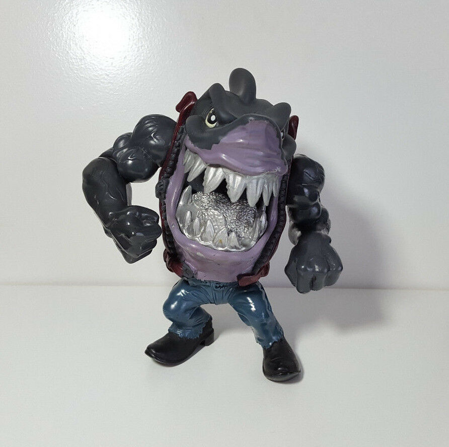 Vintage 1995 Street Sharks Night Fighters Trapjaw Ripster Action Figure