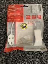 White ERA 723-15 Safety Locking Window Restrictor Child Restrictor
