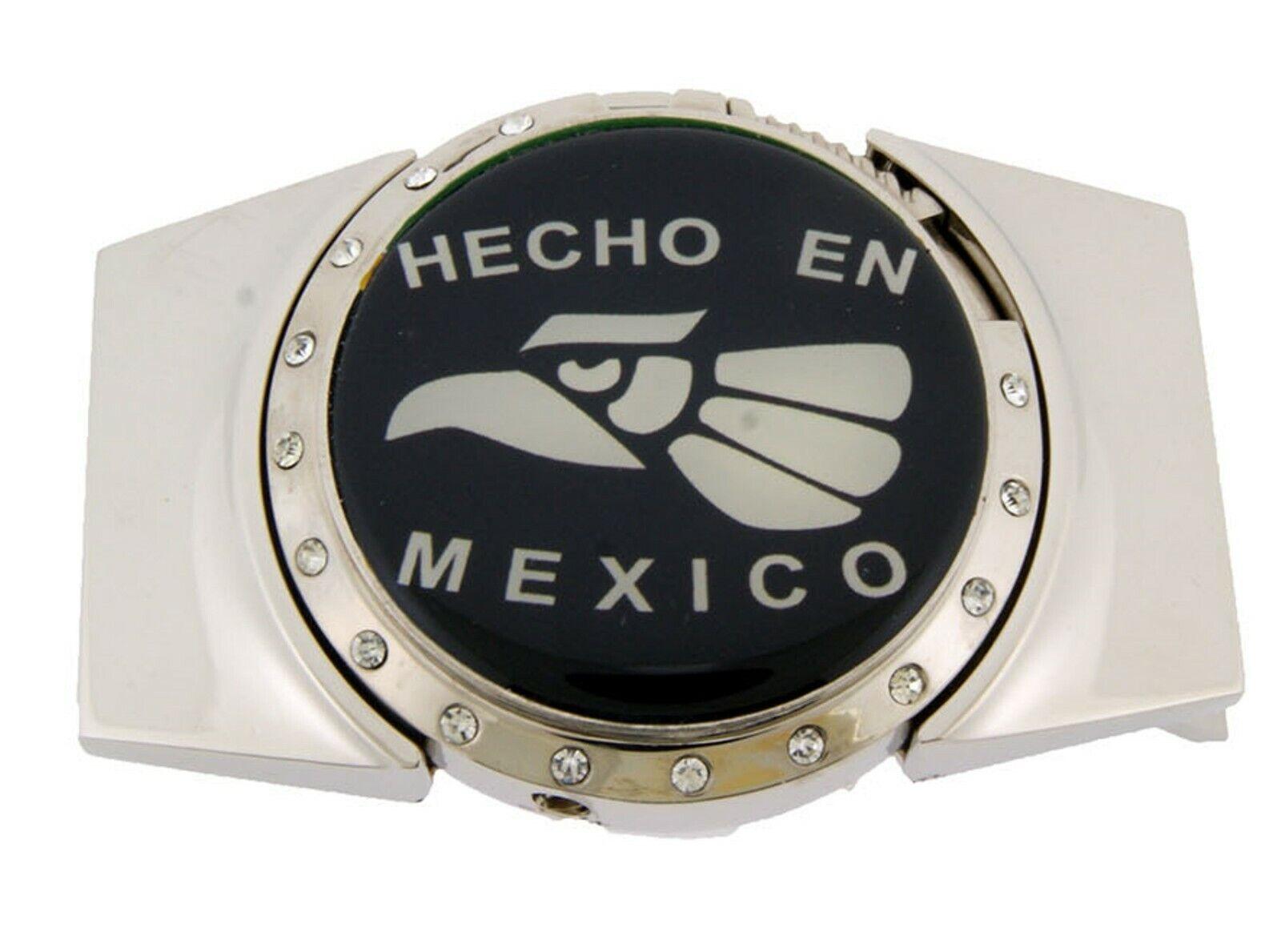 Hecho En Mexico Gürtelschnalle Adler Mexikanisch Abnehmbare Helleres Neu &