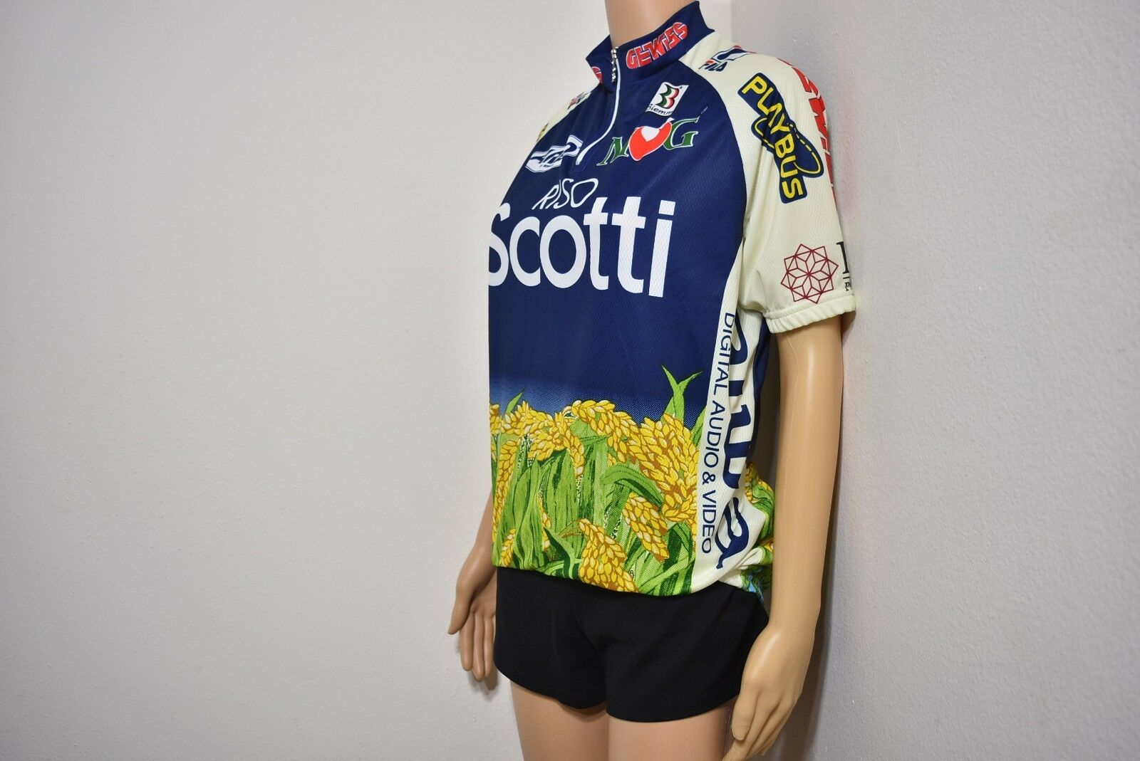 NWOT  BIEMME Riso Scotti Cycling Team Bike Jersey Mens T-Shirt Made in  SZ 3  find your favorite here