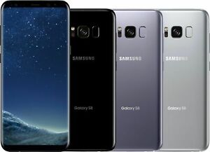 Samsung-Galaxy-S8-SM-G950U-64GB-GSM-Unlocked-AT-amp-T-T-Mobile-4G-LTE-Smartphone