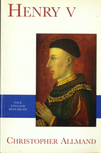 1 of 1 - Henry V (Yale English Monarchs) by Christopher Allmand - Please See The Photos