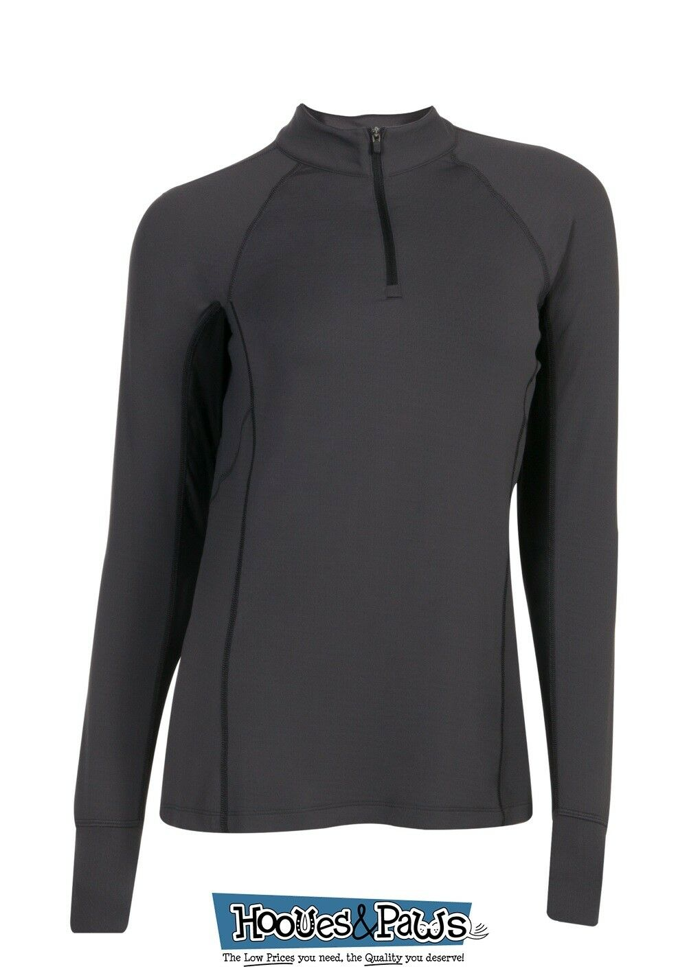 Noble Outfitters Ashley Performance Long Sleeve Riding Shirt Prossoection Asphalt