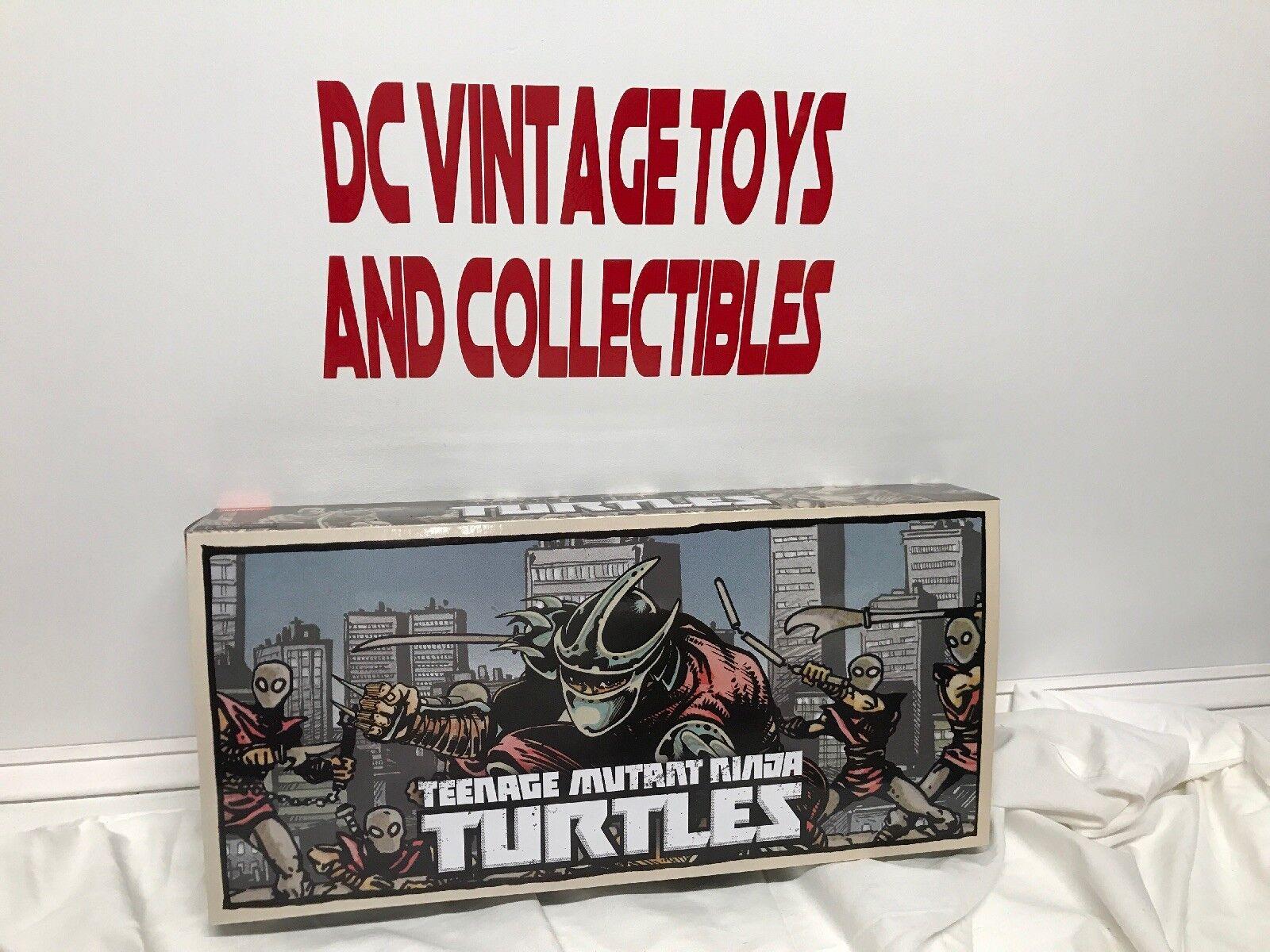 NECA pie clan New York Comic Con 2016 Teenage Mutant Ninja Turtles trituradora soldado Set