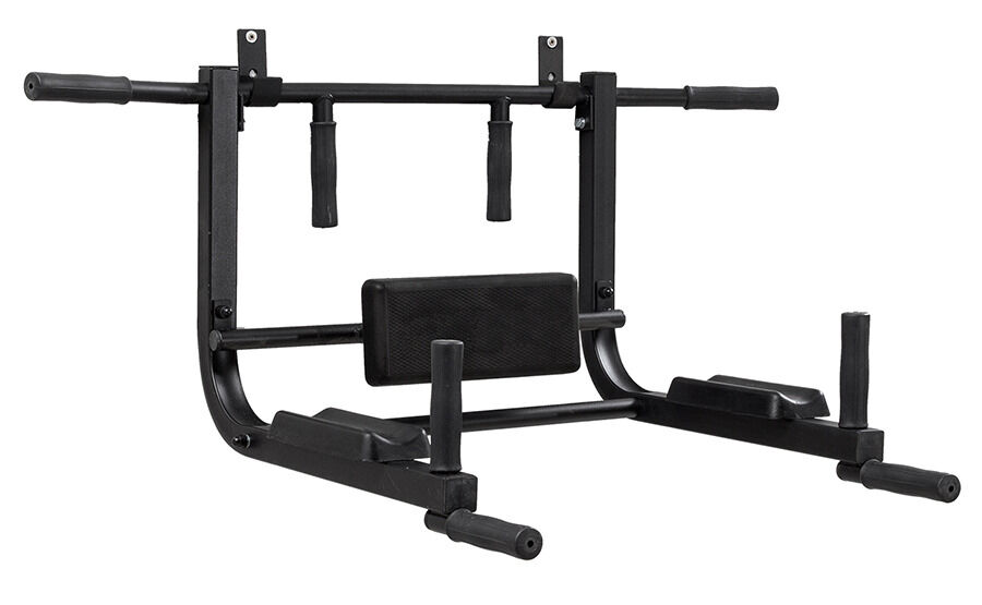 Pull Up Bar Wall Mounted Home Gym Cross Fit Multi Grip Steel Lifetime Warranty