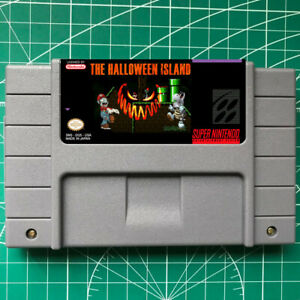 Super Mario World -The Halloween Island SNES VIDEO GAME