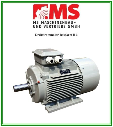 Elektromotor Drehstrommotor 2,2 kW 3000 U//min,Energiesparmotor IE2 230//400 V