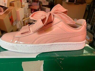 PUMA »Basket Heart Patent« Sneaker , Gr. 39 , rosa | eBay