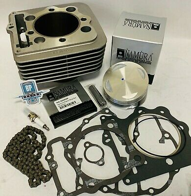 Honda 400EX 400X XR400 XR 400R Top End Cylinder Rebuild Kit CP Piston /& Gaskets
