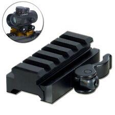 UTG 5-Slot Universal Quick Detach Lever Lock Adapter Riser Fits Picatinny Rail E