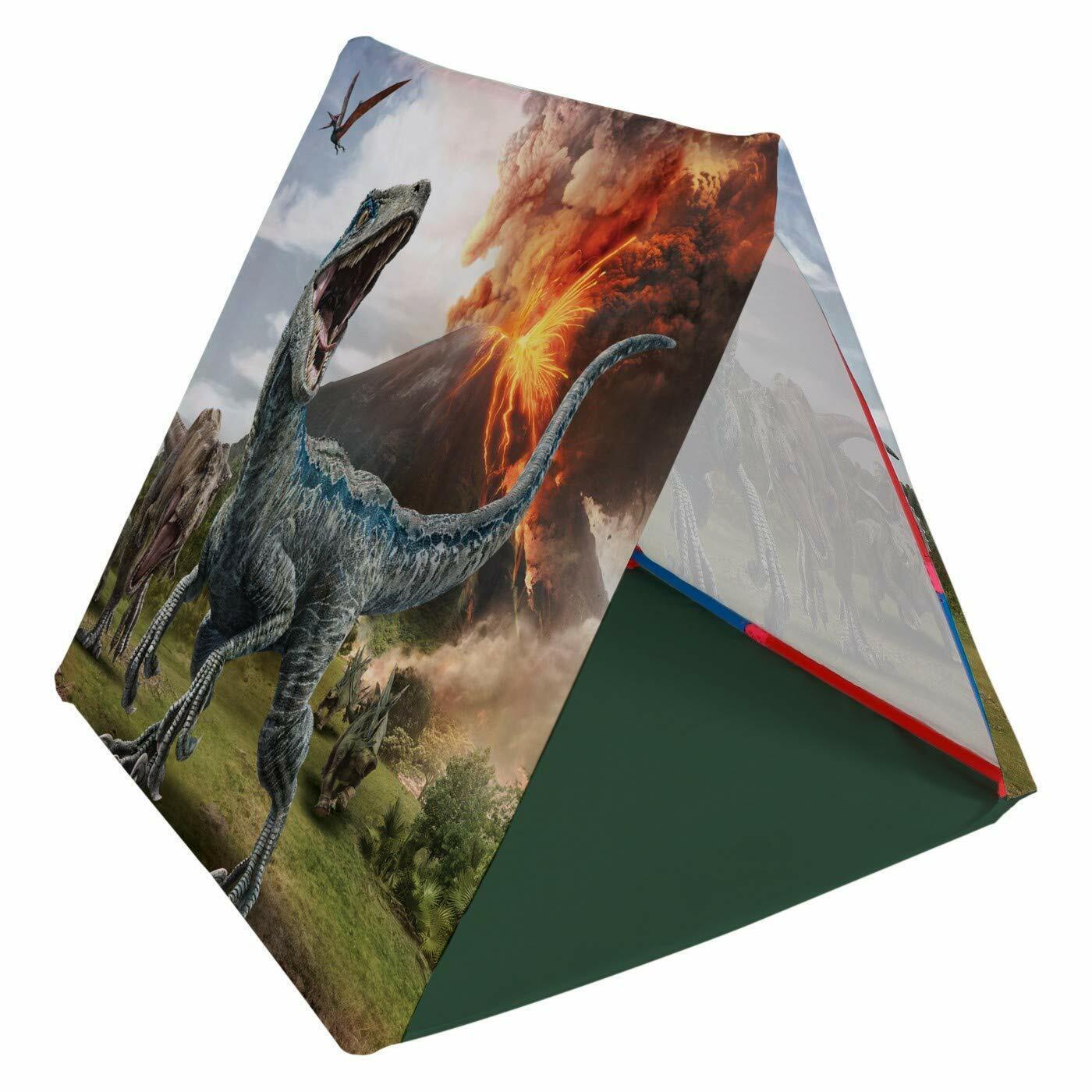 Jurassic World Universal Studios Build And Jugar Tent Kit