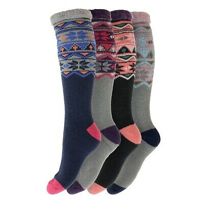 New Women/'s Just Heat Tog Rating 2.3 Brushed For Extra Warmth Thermal Socks