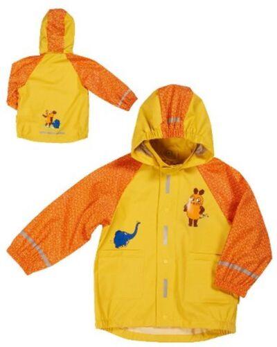 Neu Playshoes Die Sendung mit der Maus Regenjacke Regenmantel gelb Gr 80-128