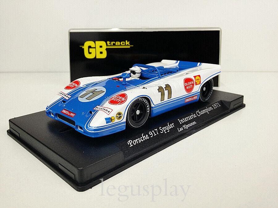 Slot Coche Scalextric Fly GBtrack GB2 Porsche 917 Spyder - Interserie Champion '71