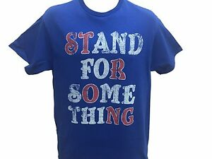 Be-Strong-Stand-For-Something-Vintage-Gift-Men-039-s-T-shirt-S-XL