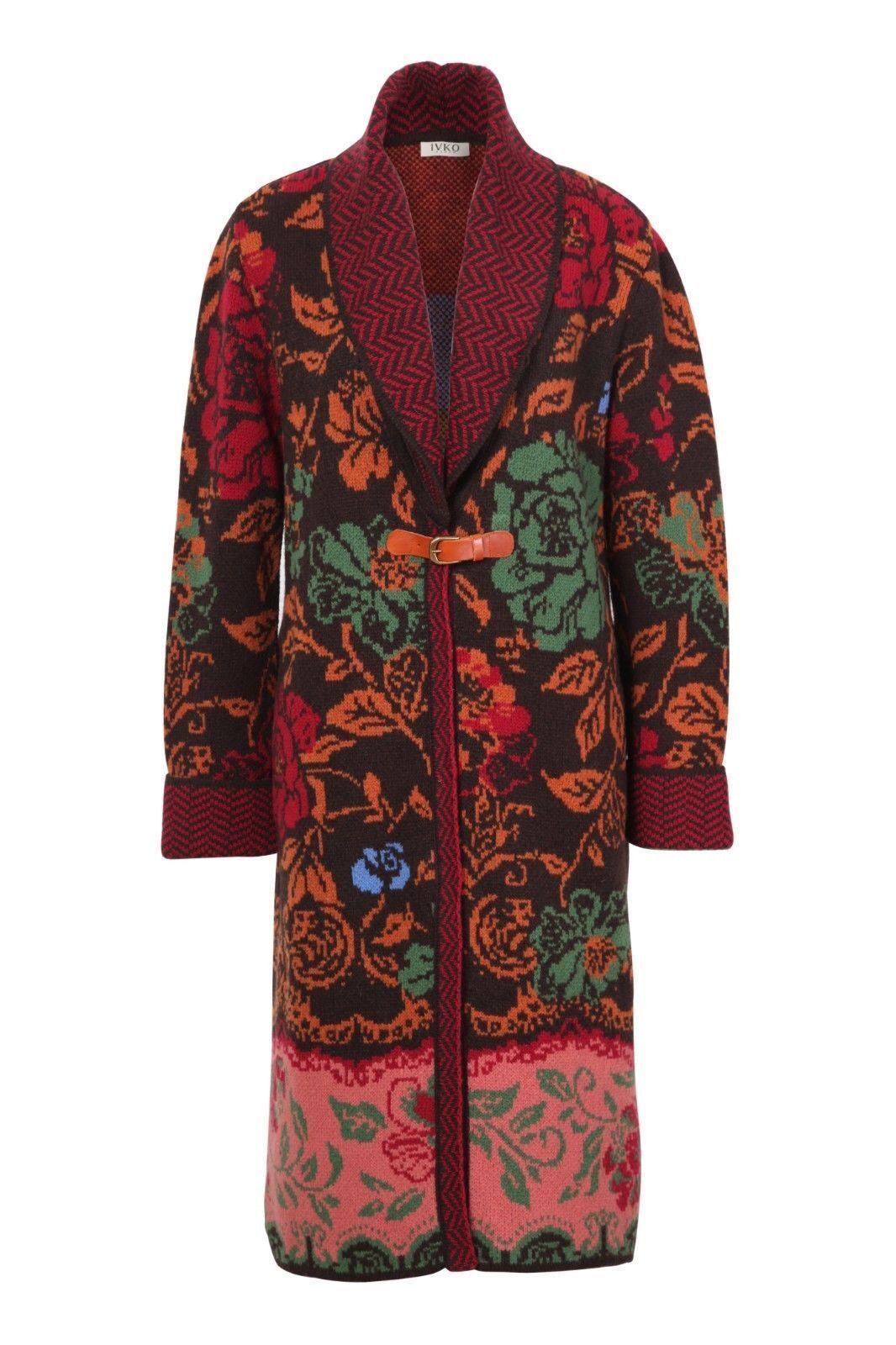 Precioso abrigo. Ivko. nuevo. folklore.  lana. elegante. muy noble.gr.38-40-42  precios bajos todos los dias